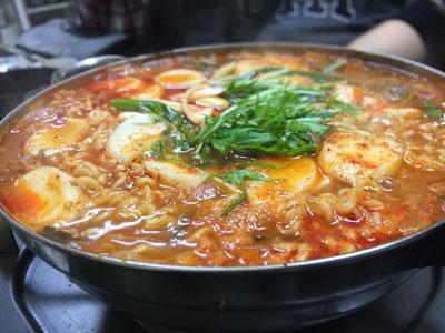 神戸 長田 韓国料理 釜山 プデチゲ
