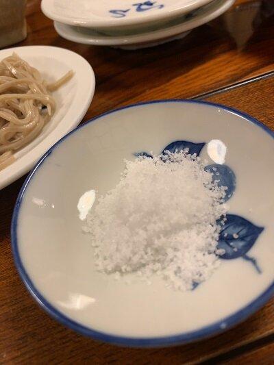 出石 そば よしむら 皿そば 塩