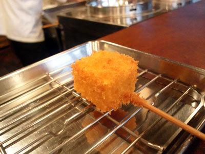 三ノ宮 串揚げ&カレー 串心 串揚げ チーズ