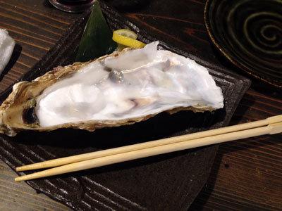 加古川 居酒屋 ダイフク 岩手産 生牡蠣