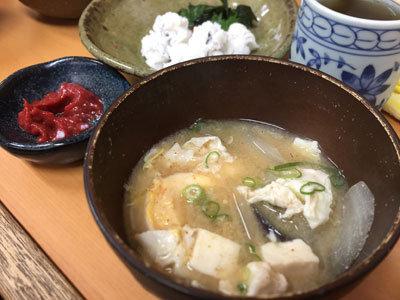 姫路 福十食堂 玉子汁