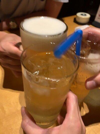 姫路 蕎麦 高田屋 乾杯