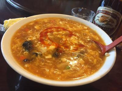 姫路 香港料理 吉祥華 酸辣湯