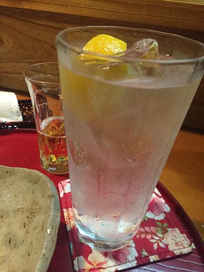 姫路 和食 しゃらら チューハイ レモン