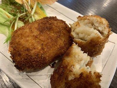 姫路 天晴水産 ぽっぽ家 海鮮コロッケ じゃっころ