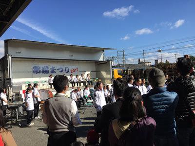 姫路 市場祭り 2017 冬 ステージ