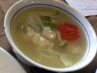 姫路 ラオス食堂 ラオス魚介スープ