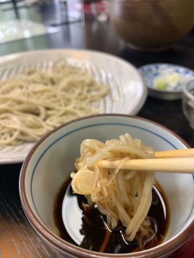 姫路 梅麟館 蕎麦 汁