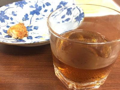 明石 台湾料理 群ちゃん 烏龍茶