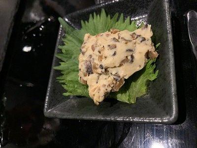 姫路 和食とお酒のお店 夢番地 クリームチーズ