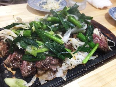 姫路 肉酒場 肉のまるまさ ハラミねぎ