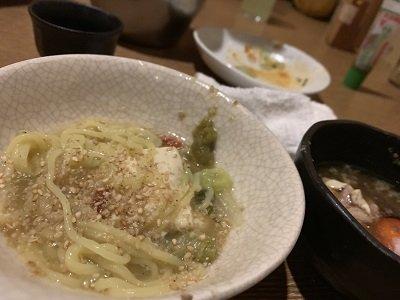 大阪 草鍋 えんや 〆 ラー麺