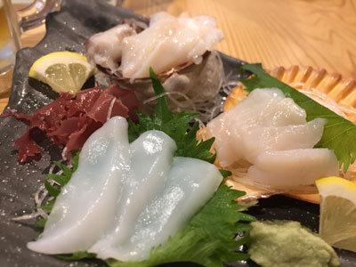 姫路 貝屋 マルホウ 吉田水産 刺身定食
