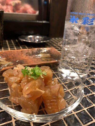 姫路 焼肉 五味屋 煮こごり