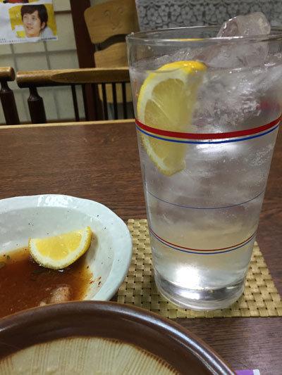 神戸 大衆居酒屋 食通 権太 チューハイ