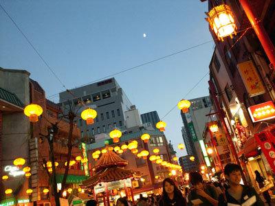 神戸 元町 中華街 賑わい