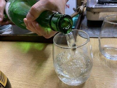 垂水 立呑み 若汐 日本酒