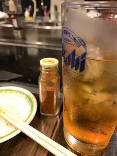 姫路 お好み焼き 三木 麦ウーロン茶