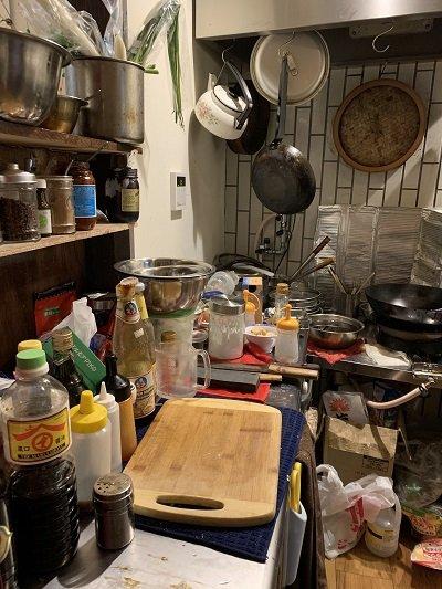 神戸 元町 広東料理 鷹楽園 キッチン