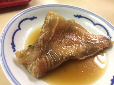 明石 立呑み 呑べえ 赤魚 煮付け