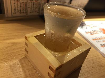 姫路 立呑み 卯の助 日本酒