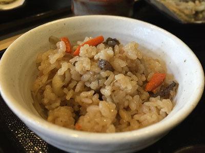 京都 うどん 讃岐うどん 大河 かやくご飯