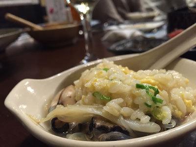 赤穂 牡蠣 かましま 雑炊