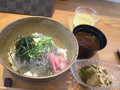 明石 漁師寿司 海蓮丸 生しらす丼 セット