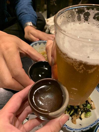久留米 居酒屋 武将 乾杯