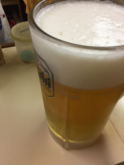 明石 立吞み 吞べえ 生ビール 大