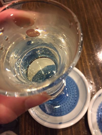 姫路 立呑み めぐみ家 日本酒 グラス