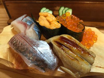 姫路 立ち喰い寿司 魚路 単品