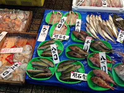 明石 魚の棚 青ベラ