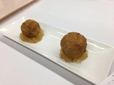 播州のめんまつり 2017 みかしほ学園 スイートポテト麺