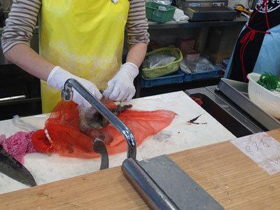 姫路 妻鹿漁港 とれとれ市場 新鮮鮮魚