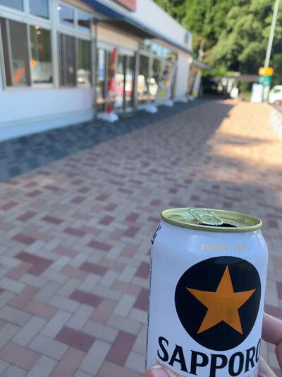 まぁころ 旅行 朝からビール