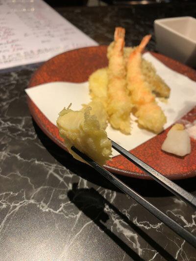 姫路 創作料理 夢番地 天ぷら タケノコ