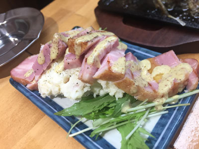 加古川 肉家 まるまさ 大浦ミート ポテトサラダ