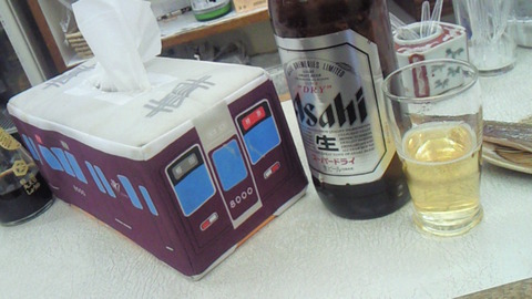 電車好き 立飲み 山田酒販