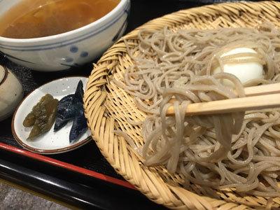 姫路 蕎麦 御座候 巣篭もり 蕎麦