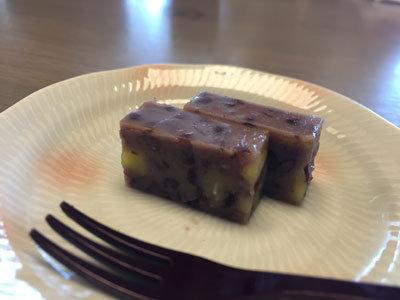 白鹿クラシックス 海老と冬野菜の天麩羅御膳 デザート
