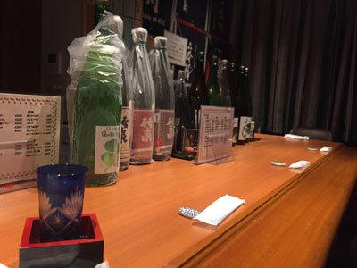 姫路 日本酒 居酒屋 暮六つ カウンター