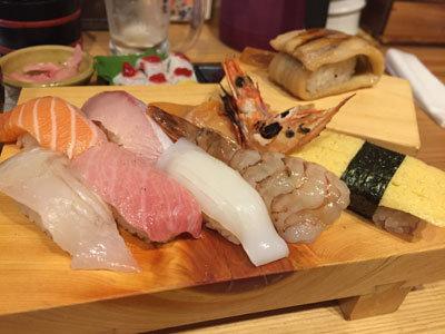 姫路 立喰い 寿司 魚路 ととろ 特上セット
