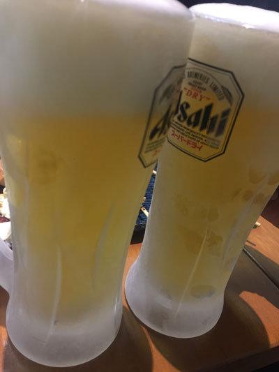 姫路 焼きとり 鶏すき みこはち屋 生ビール