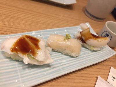大阪 さかなやのmaru寿司 紋甲イカセット