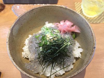 明石 漁師寿司 海蓮丸 生しらす丼