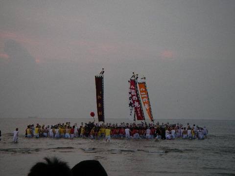 姫路 灘のけんか祭り 本宮 汐かき