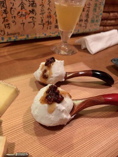 明石 ワイン酒場 Ace 水牛チーズ