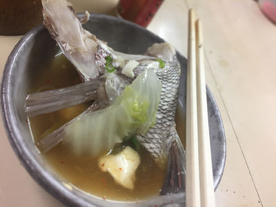 明石 立呑み 呑べえ 湯豆腐 魚