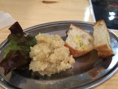 明石 立呑み ステーキ酒場 MORISHIN ポテトサラダ